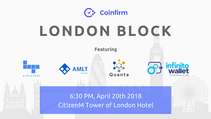 Quanta blockchain lottery to join London Block and to kick off its world tour