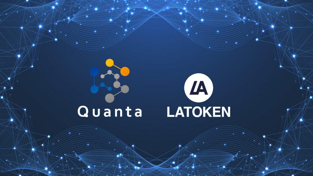 Latoken Quanta blockchain lottery