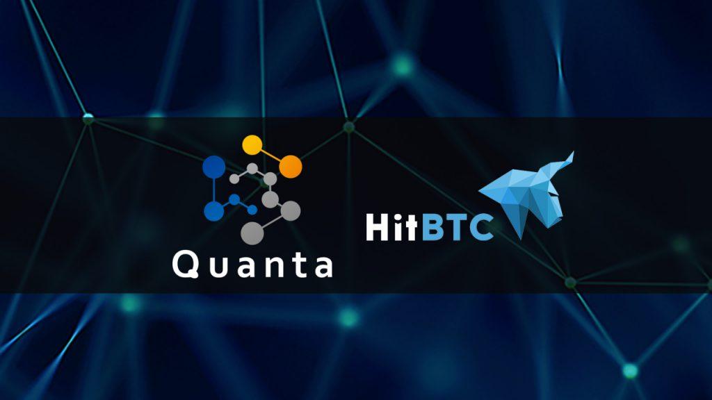 Quanta blockchain lottery QNTU To Be Listed On HitBTC